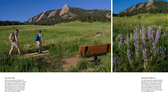 Pages from: Boulder, Colorado: A Photographic Portrait